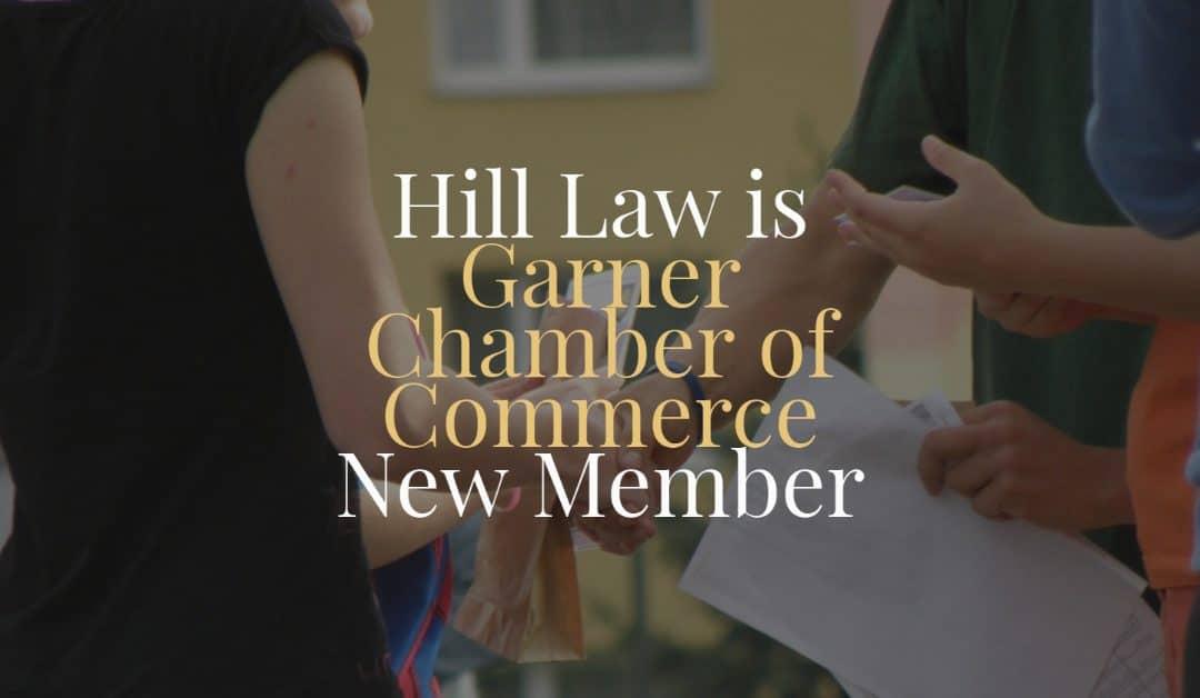 Garner Chamber of Commerce New Member