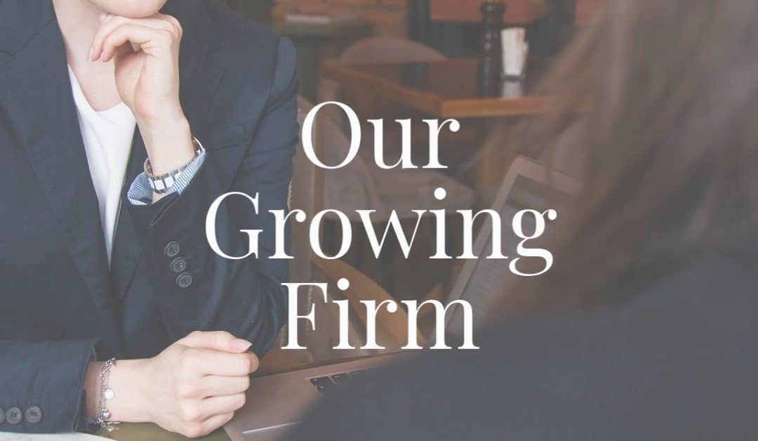 Our Growing Firm: Lindsey Reedy